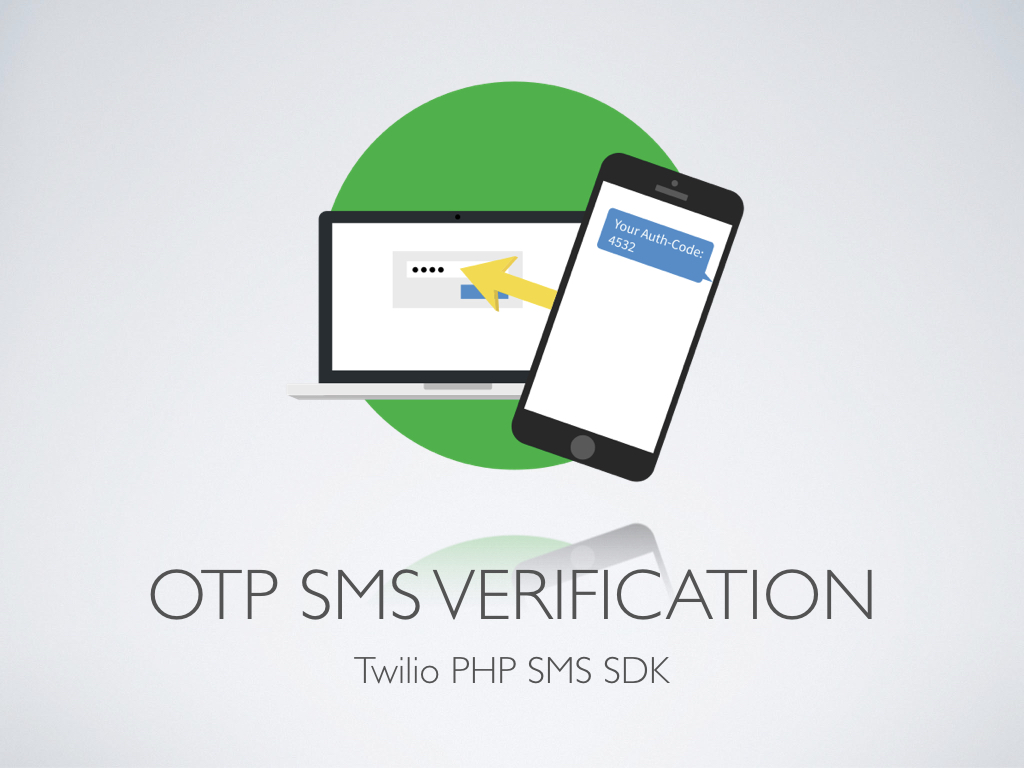 2-factor Login Authentication - PHP & Twilio SMS