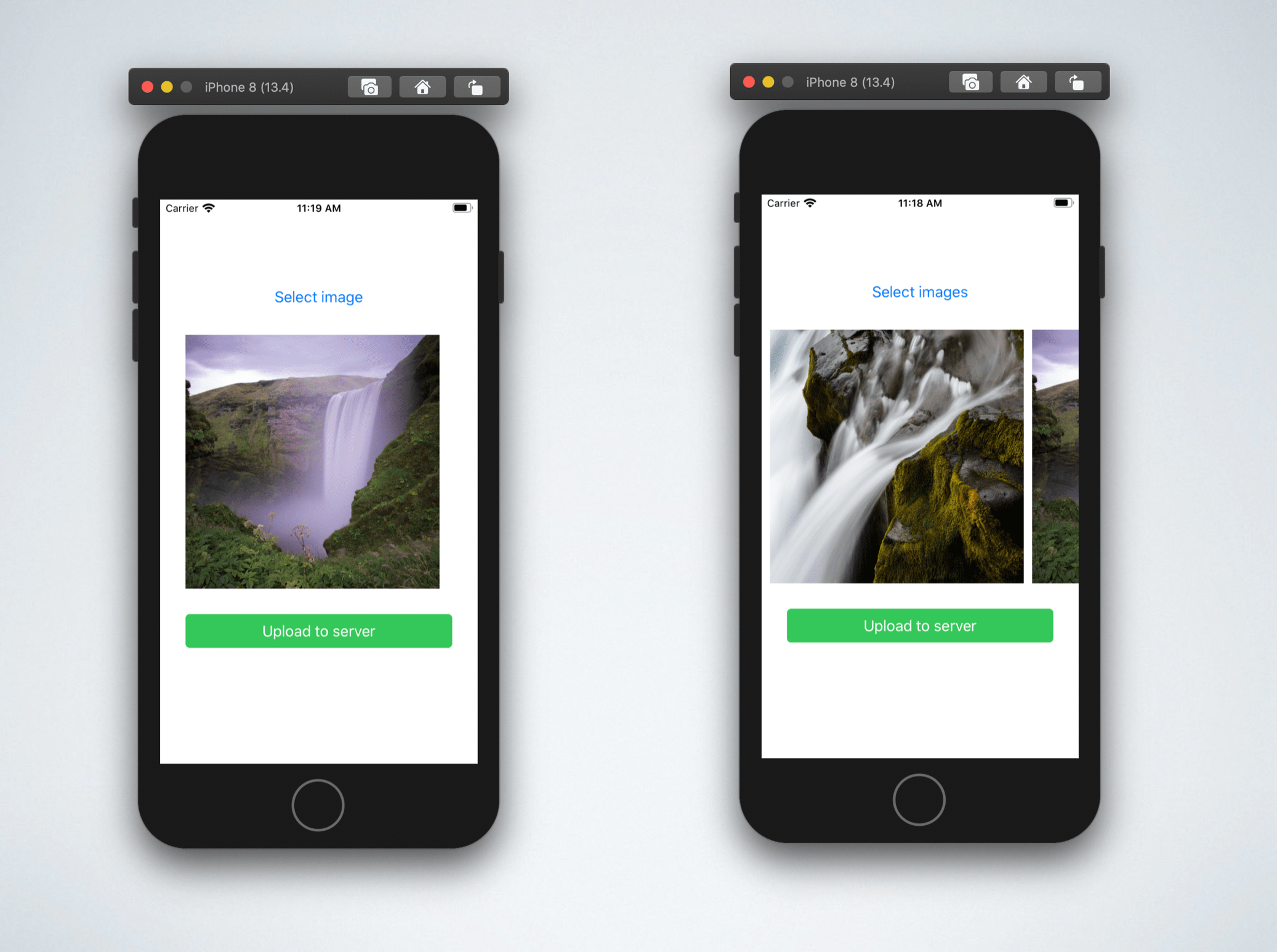 How to upload single and multiple images in iOS Swift, PHP and MySQL