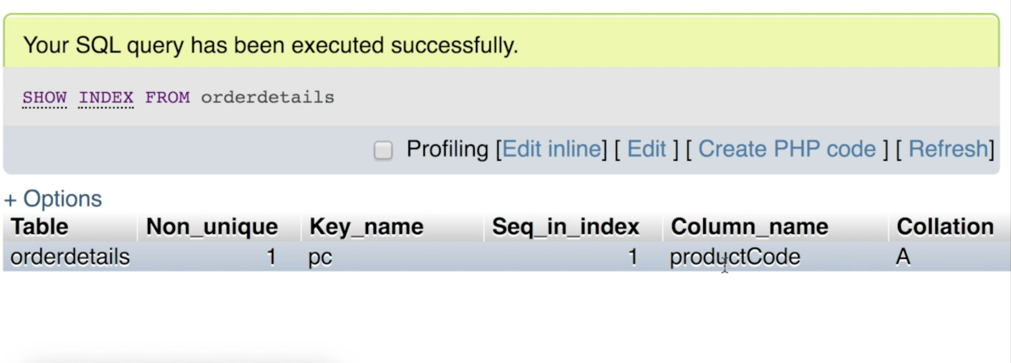 Use indexes to reduce the overhead on MySQL server
