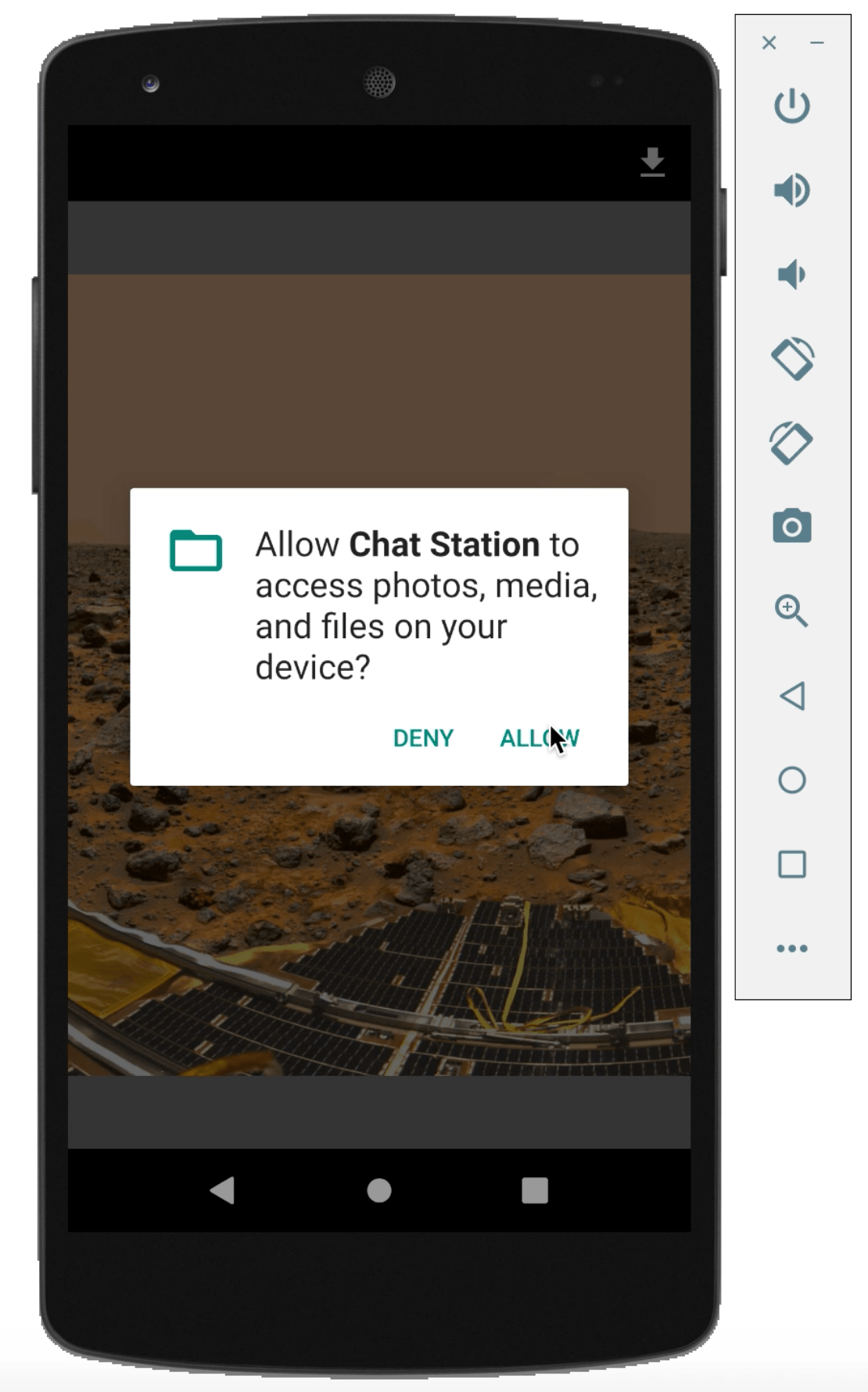 Download image from HTTP to android external storage - Android Java