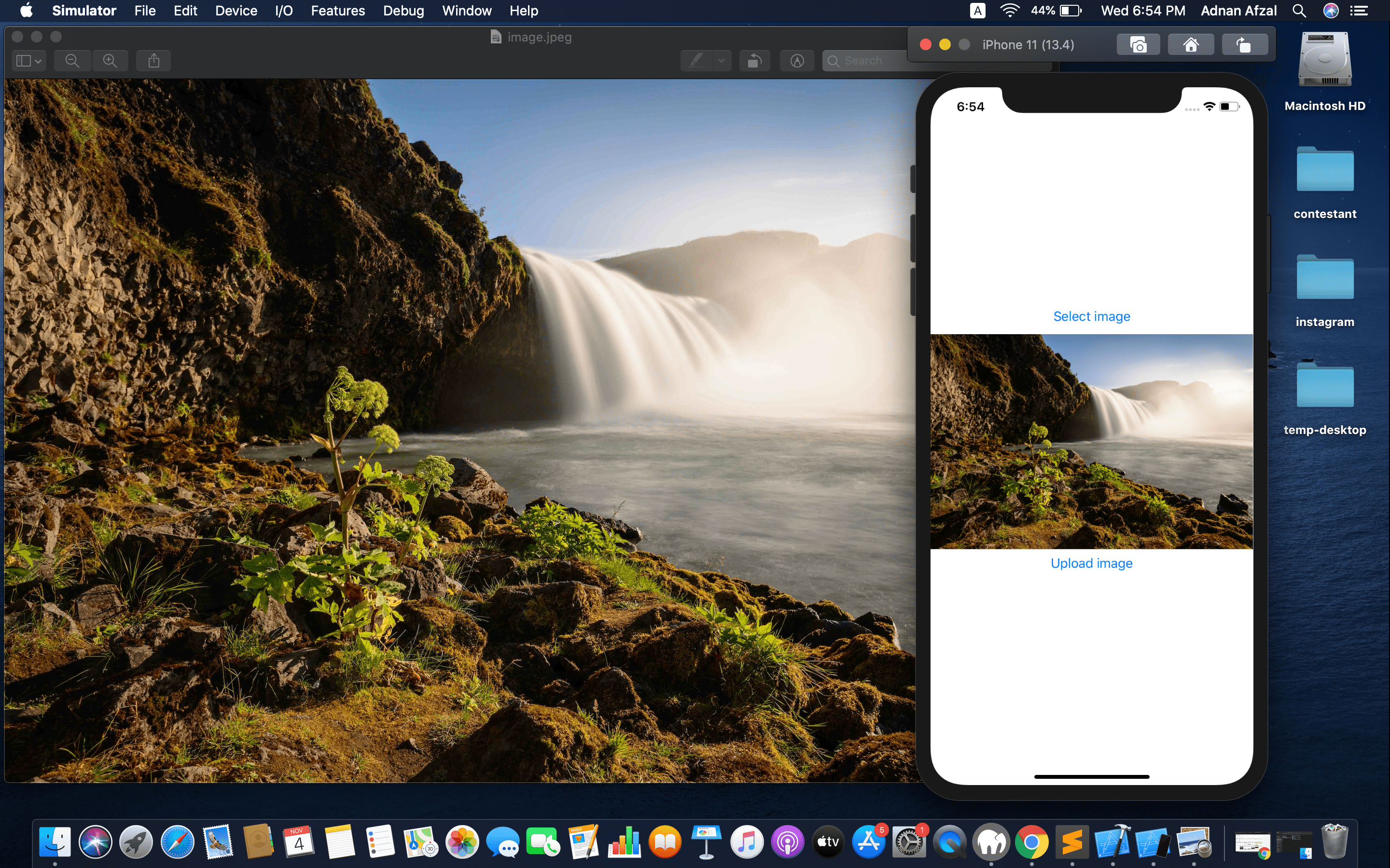 Pick image from gallery and upload to server - SwiftUI and PHP