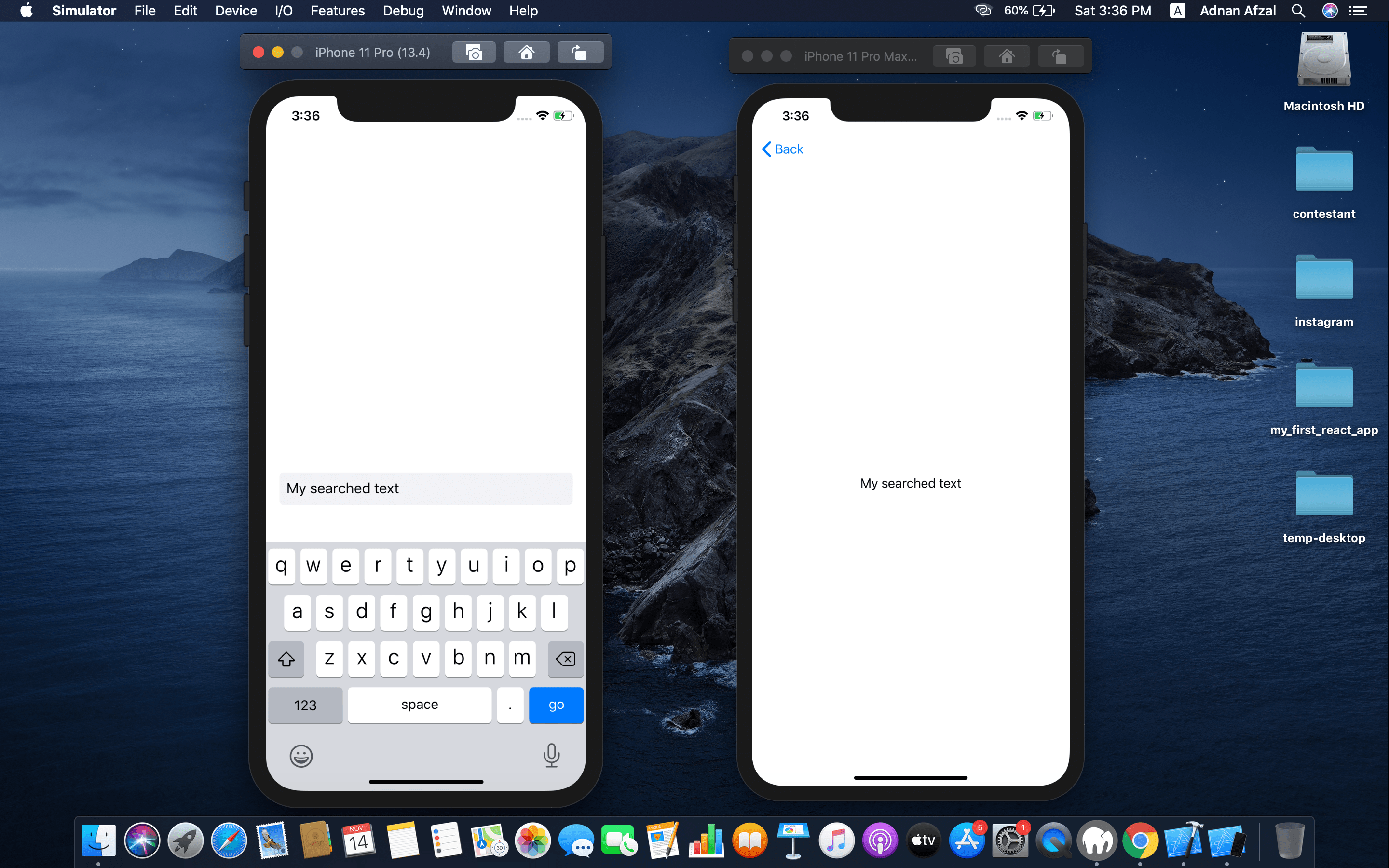 Send value from one view to another - Swift UI
